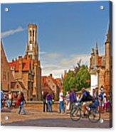 Historic Bruges Acrylic Print