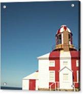 Historic Cape Bonavista Lighthouse, Newfoundland, Canada Acrylic Print