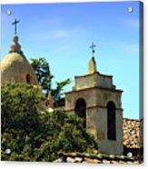 Historic Carmel Mission Acrylic Print