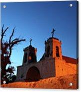 Historic Chiu Chiu Church Chile Acrylic Print