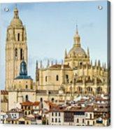 Historic City Of Segovia Acrylic Print
