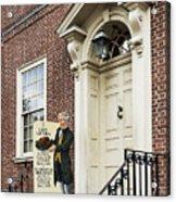 Historic City Tavern Acrylic Print