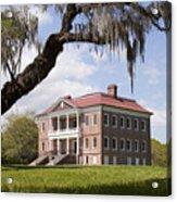 Historic Drayton Hall In Charleston South Carolina Acrylic Print