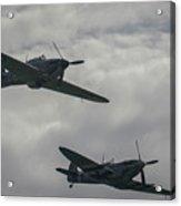 Historic Fighter Planes Acrylic Print