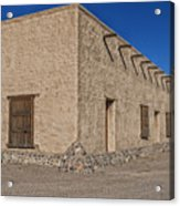 Historic Fort Leaton- Texas Acrylic Print