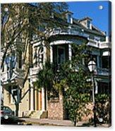 Historic Houses In A City, Charleston Acrylic Print