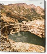 Historic Iron Ore Mine Acrylic Print
