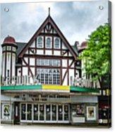 Historic Keswick Theater In Glenside Pa Acrylic Print