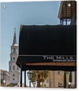Historic Mills House Lodging Acrylic Print