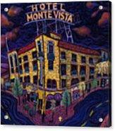 Historic Monte Vista Hotel Acrylic Print
