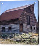 Historic More Barn Acrylic Print