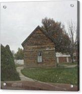 Historic Mormon Cabin Acrylic Print
