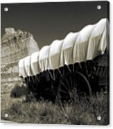 Historic Oregon Trail - Vintage Photo Art Print Acrylic Print