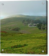 Historic Pierce Point Ranch In Point Reyes Acrylic Print