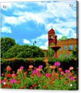 Historic Rochester Gardens Acrylic Print