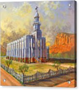 Historic St. George Temple Acrylic Print
