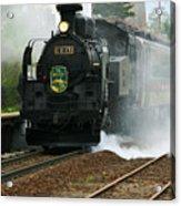 Historic Steam Train Acrylic Print