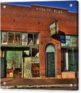 Historic Storefront In Bisbee Acrylic Print