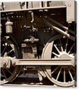 Historic Trains Acrylic Print