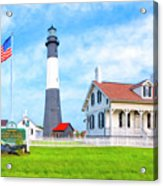 Historic Tybee Island Light Station Acrylic Print
