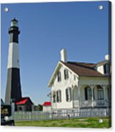 Historic Tybee Island Lighthouse II Acrylic Print