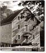 Historic Walnford Mill Acrylic Print