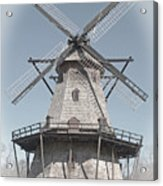 Historic Windmill Acrylic Print