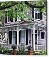 Historical Home In Wilmington Acrylic Print