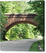 Historical Stone Arched Bridge Acrylic Print