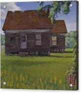 Historical Warrenton Farm House Acrylic Print