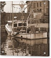 Historical Waterfront  Acrylic Print