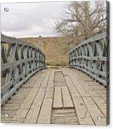 History Bridge Acrylic Print