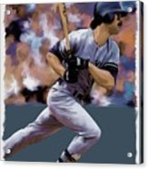 Hit Man  Don Mattingly  Acrylic Print