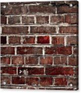 Hit The Wall Acrylic Print