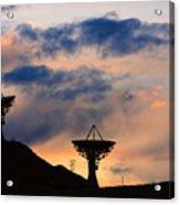 Hitech Sunset Acrylic Print