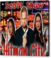 Hitman City Acrylic Print