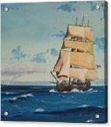 Hms Bounty On Lake Superior Acrylic Print