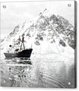 Hms Endurance Antarctic Ice Patrol Ship Acrylic Print