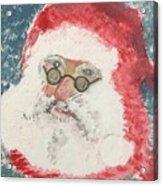 Ho Ho Ho Santa Acrylic Print
