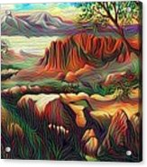 Hobbit Land Acrylic Print