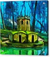 Hobbit's Castle Acrylic Print