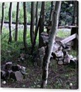 Hobo Camp In Animas Canyon Acrylic Print