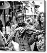 Hobo Ragtime Band Acrylic Print