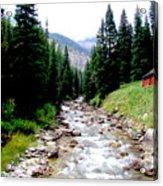 Hobock Canyon Acrylic Print