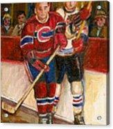 Hockey Stars At The Forum Acrylic Print