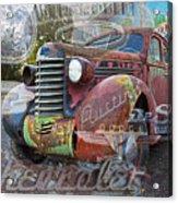 Hodge Podge Acrylic Print
