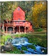 Hodgsons Mill  Acrylic Print