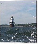 Hog Island Shoal Lighthouse Acrylic Print