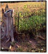 Hogeye Grave Site Acrylic Print