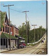 Hoggs Hollow Toronto 1920 Acrylic Print